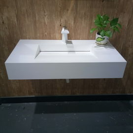 Customized Design Wall Hung Basin  Eco Friendly CE CUPC Certificated