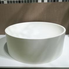 Europe Desgin Indoor Counter Top Basin / White Round Wash Basin